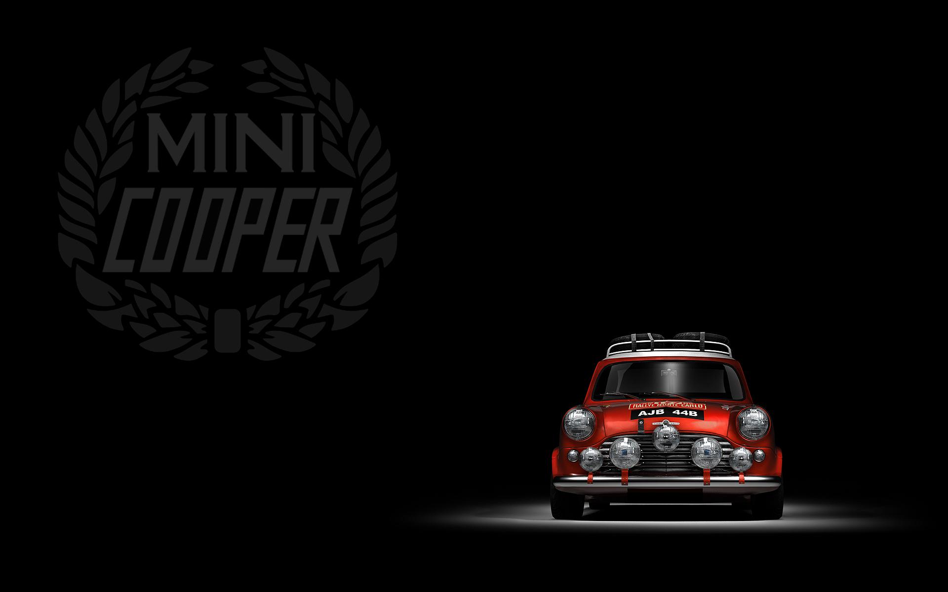 Classic mini cooper wallpaper wallpapersafari mini cooper logo hd wallpaper car pictures 1920x1200 voltagebd Images