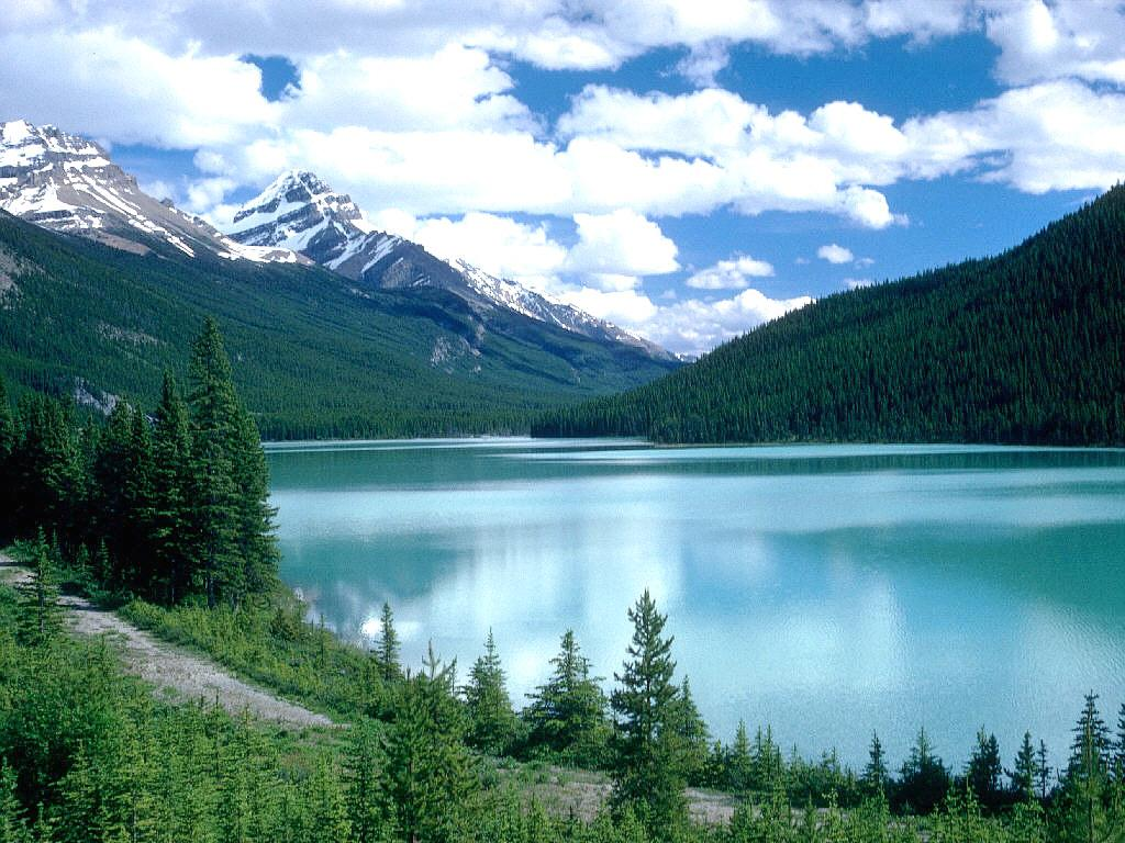 Wallpapers and pictures Lake in Canada nature wallpaper 1024x768