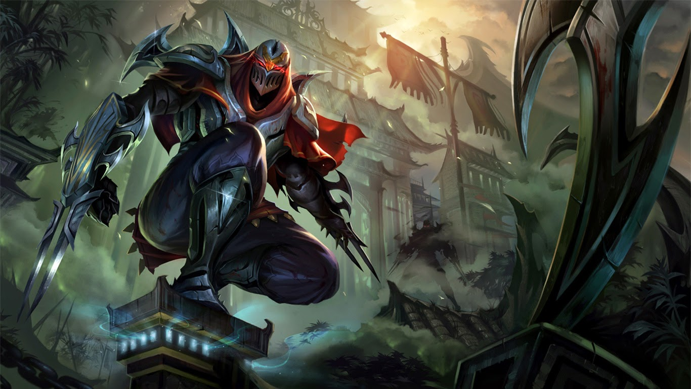 League of Legends Wallpaper 1366x768 - WallpaperSafari