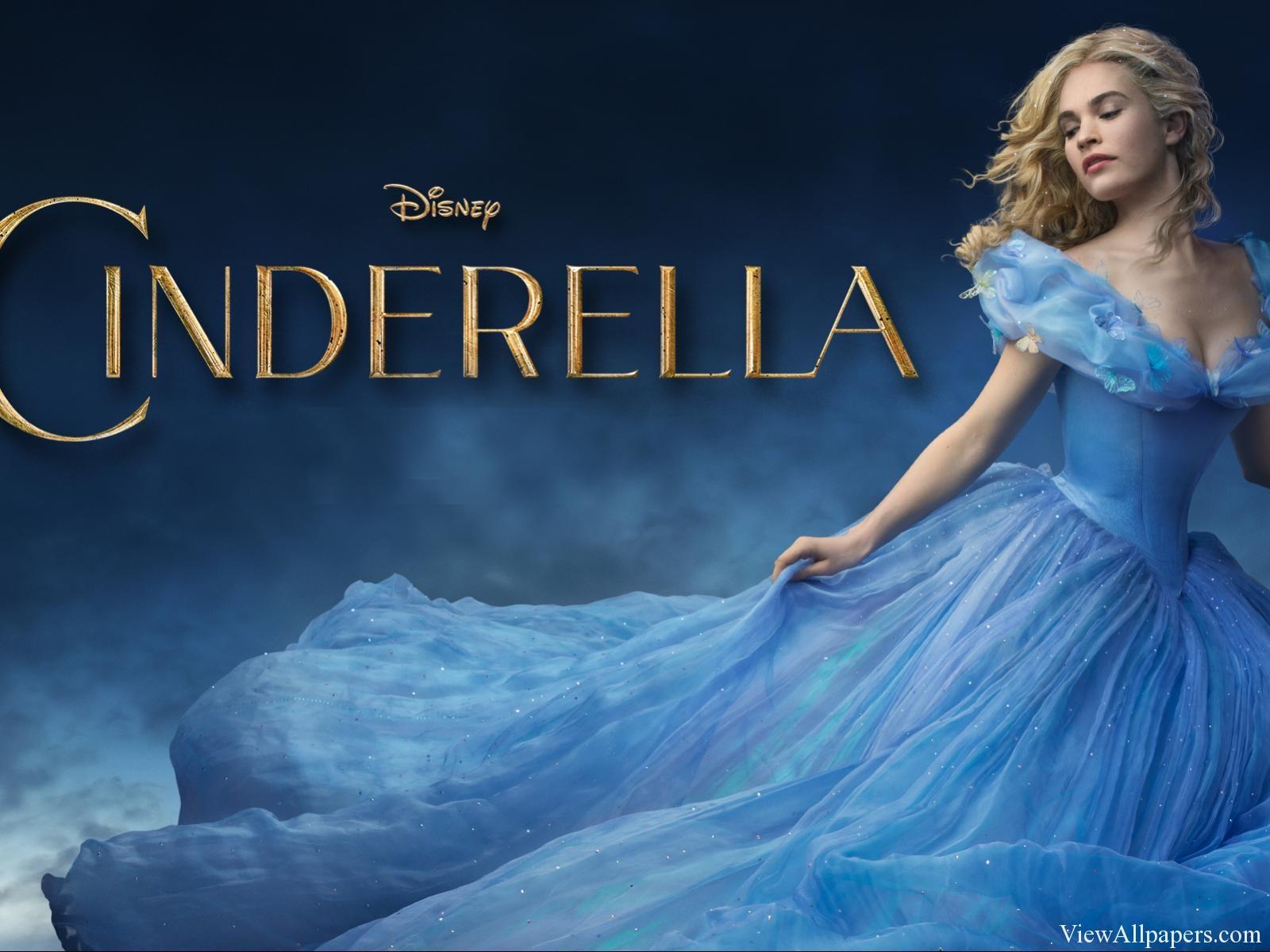 Cinderella 2015 Lily James High Resolution Wallpaper download 1600x1200