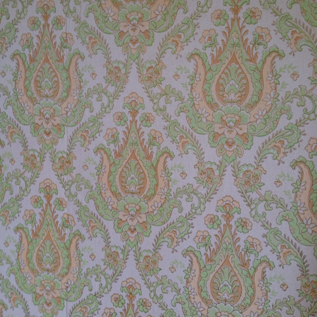 Waverly Estate wallpaper brocade style pastel patterns 640x640