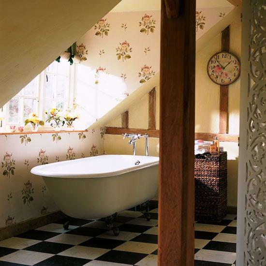 Vintage rose wallpaper yay or nay Room Envy 550x550