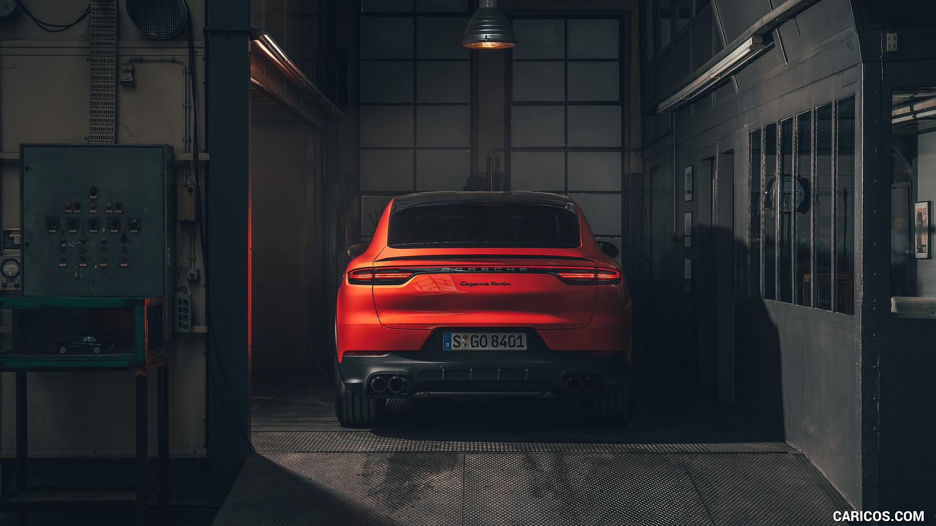 2020 Porsche Cayenne Coupe   Rear HD Wallpaper 24 1920x1080