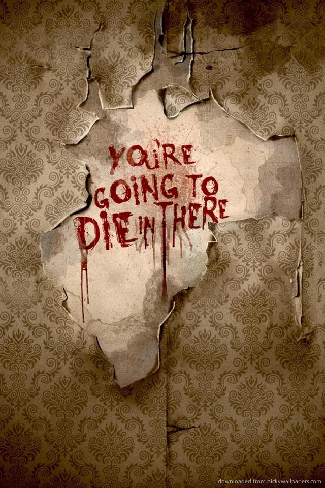 American Horror Story Writings On The Wall Wallpaper For iPhone 4 640x960
