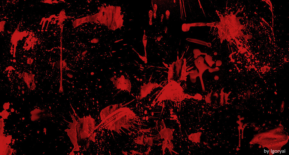 Blood Stain Wallpapers Blood stains black washout 969x520