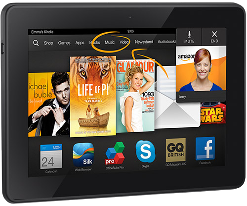 Kindle Fire HDX With Slip Lease   Holiday 2014River House Reef 500x416