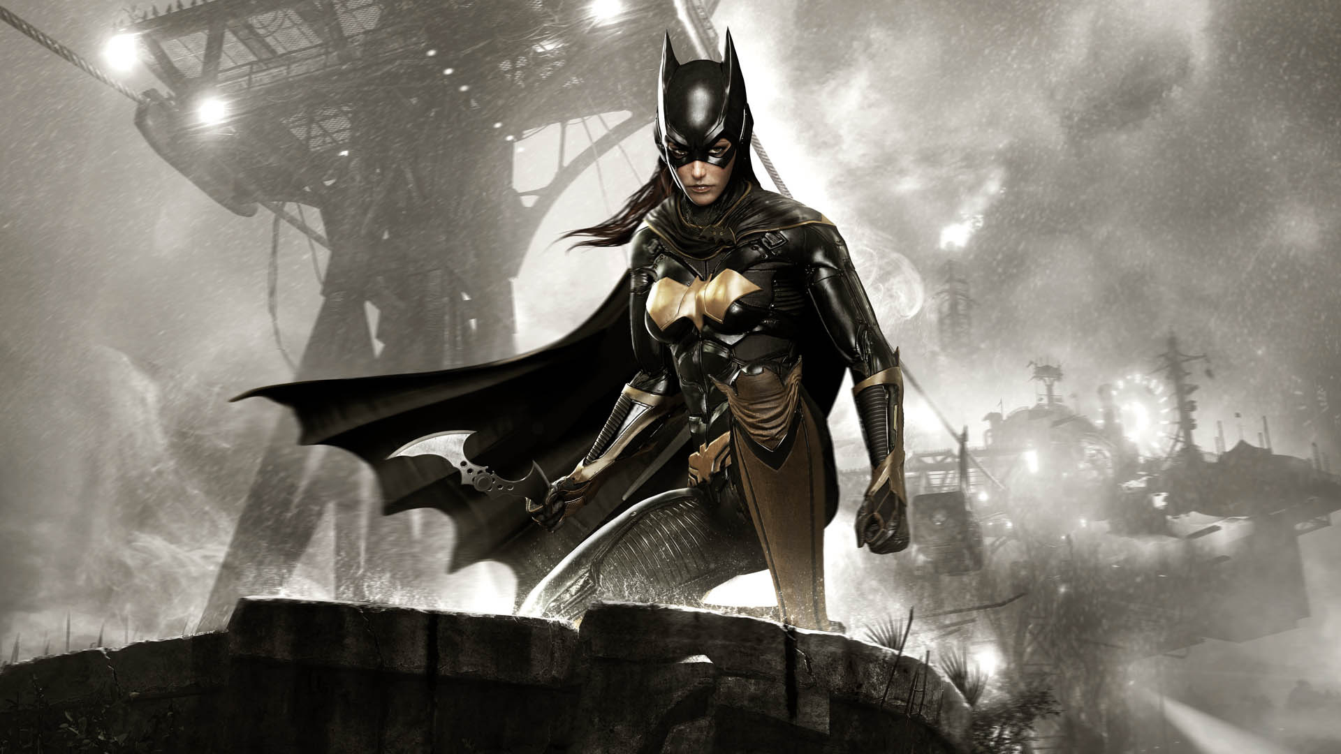 Batman Arkham Knight Batgirl 1920x1080