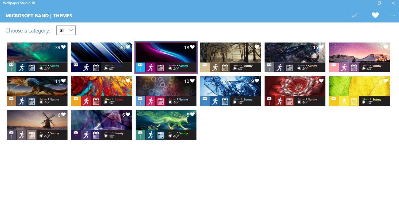 Windows 10 app from the Windows Store here Wallpaper Studio 10 1312x708