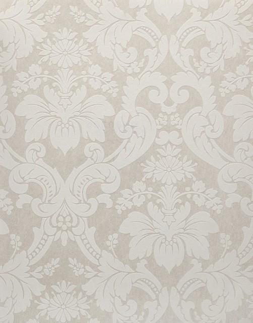 Damask Wallpaper Blue White   Traditional   Wallpaper   by Wallpaper 502x640