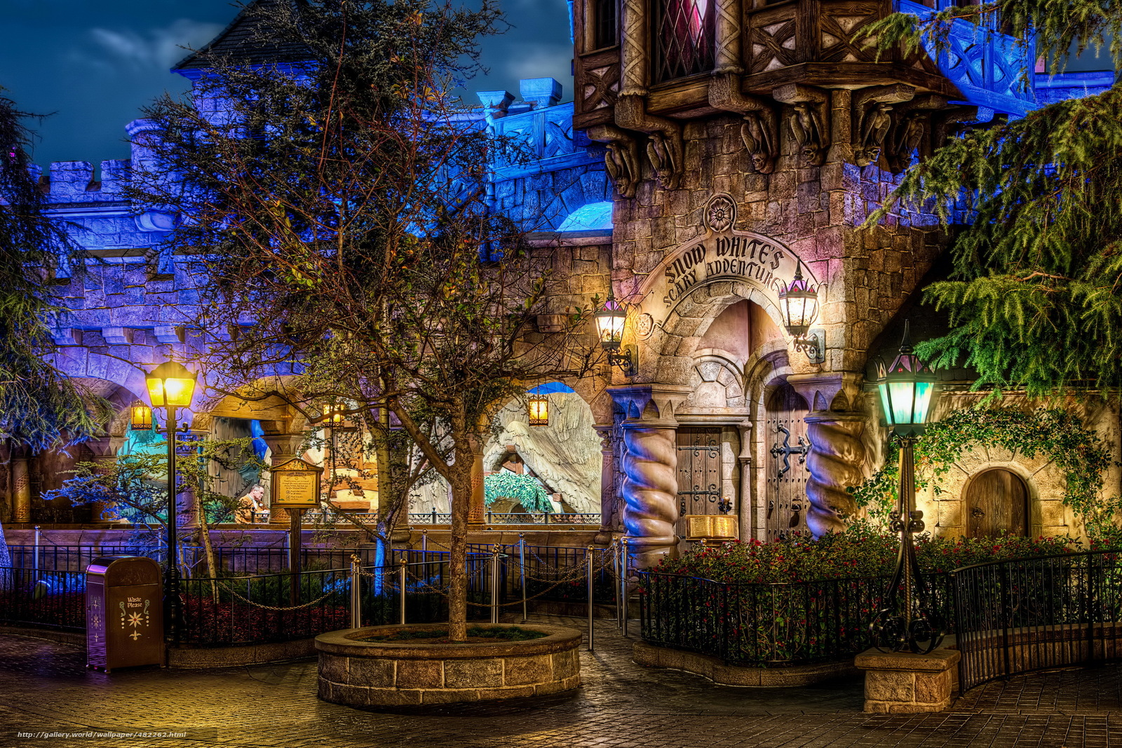 disneyland computer wallpaper   weddingdressincom 1600x1067