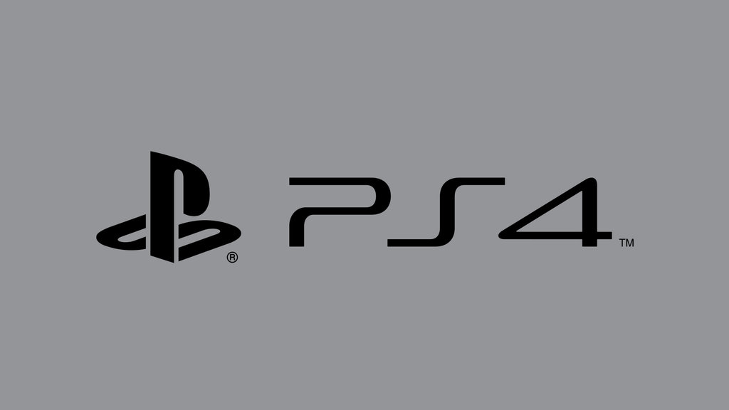 PS4 Logo Wallpaper 05 by B4H 1024x576