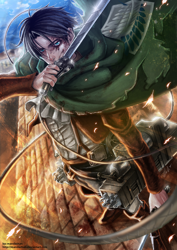 Attack On Titan Levi Wallpaper Attack on titan   levi heichou 700x990