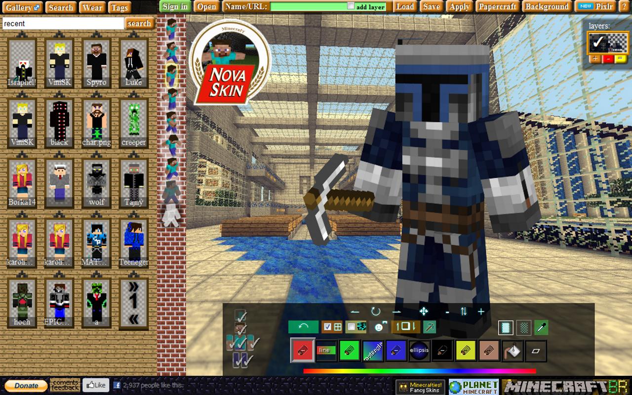 42+ Nova Skin Minecraft Wallpaper Generator on ...