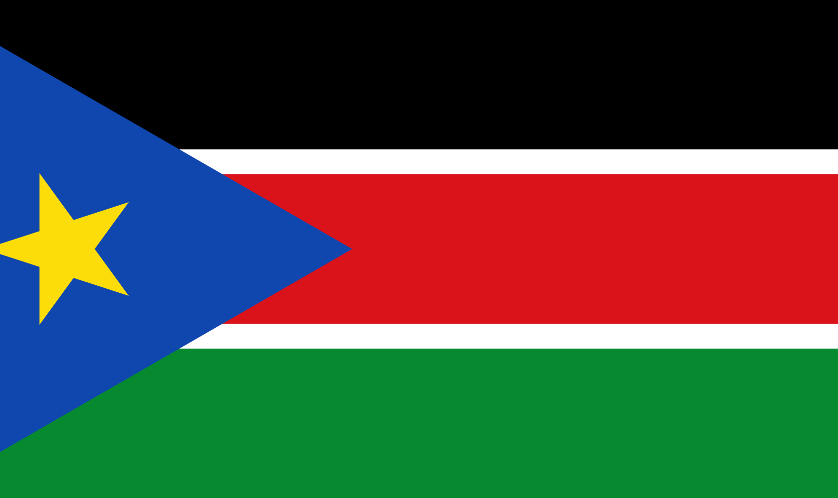 South Sudan Country Flag Wallpaper PaperPull 1680x1000