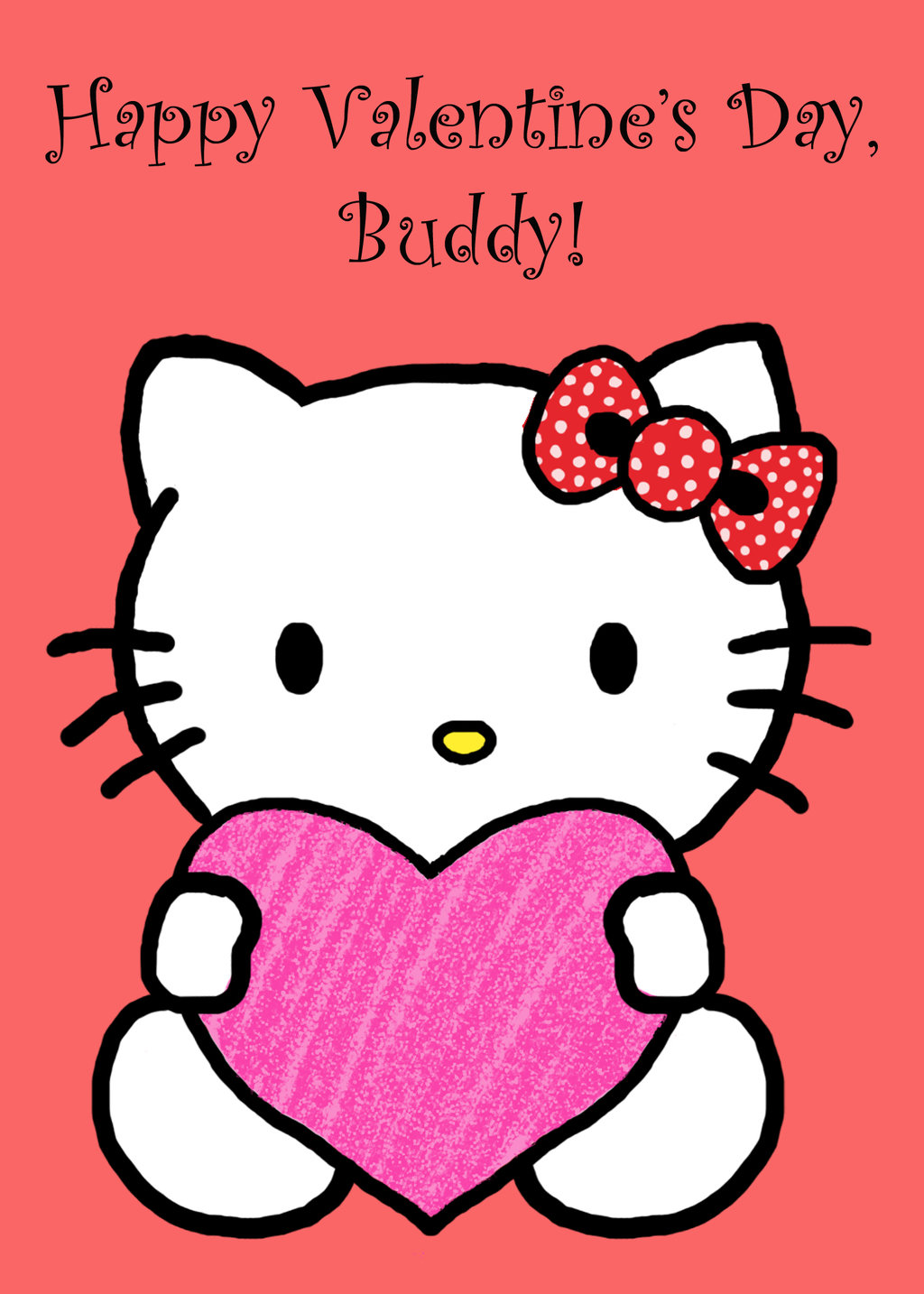 Hello Kitty Valentine by HermioneFrost 1024x1434