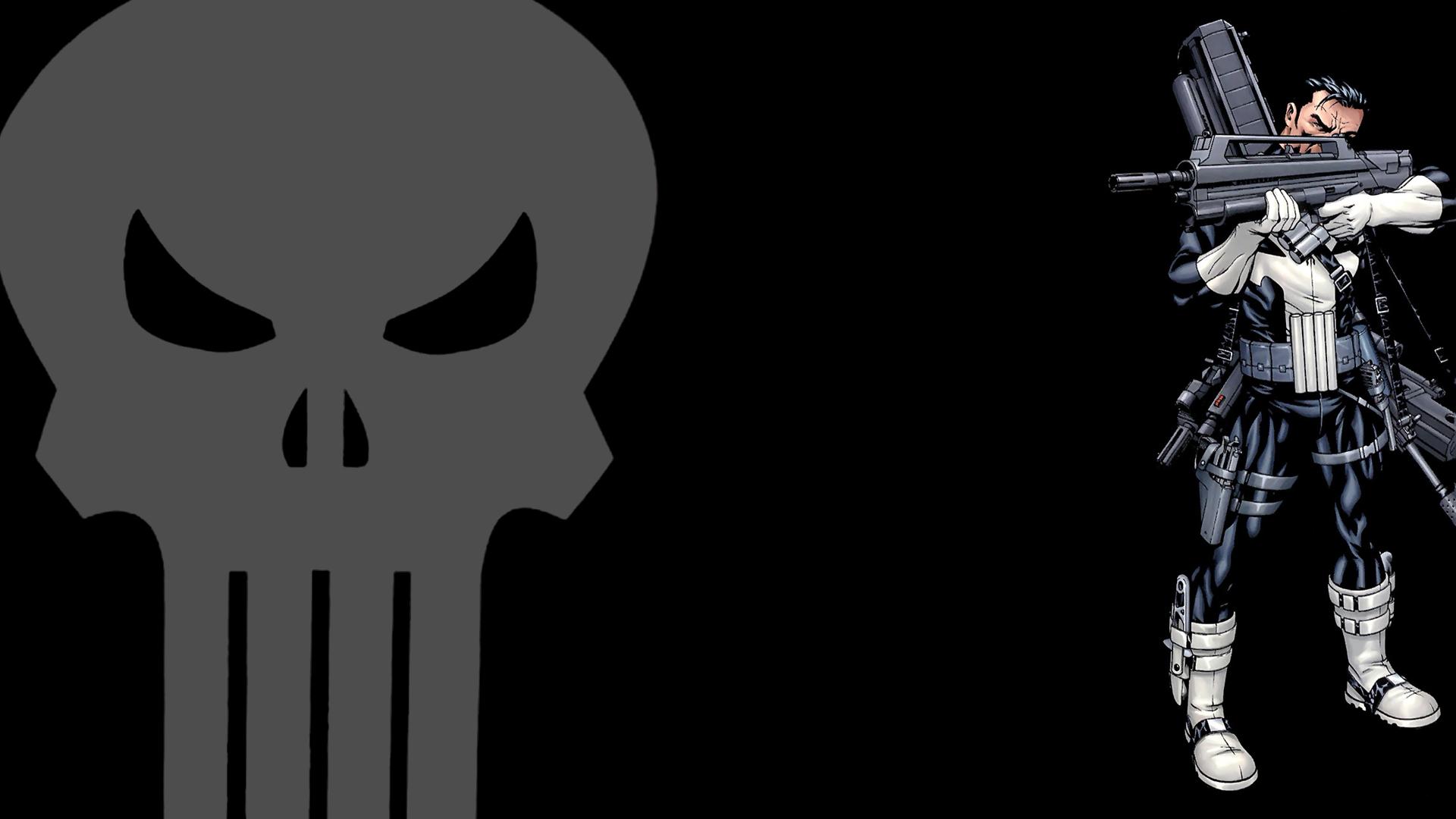The Punisher Wallpaper 1920x1080 The, Punisher, Marvel, Comics