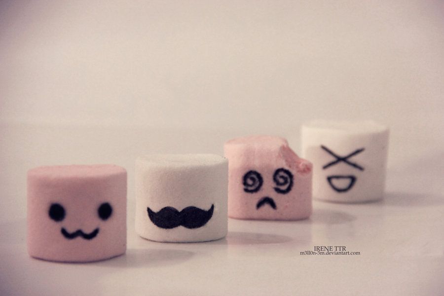 Cute Marshmallow Wallpaper Marshmallows by m3ll0n 3m 900x600