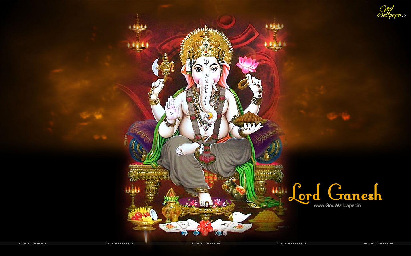 Ganesh Live Wallpaper Download for PC 1440x900