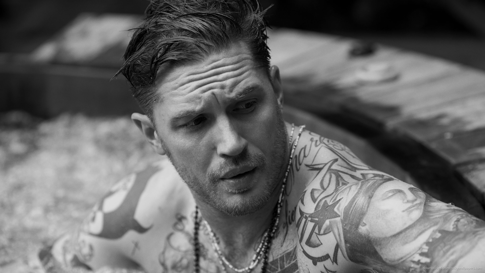 Tom Hardy Tattoos 2014 HD Wallpaper Background Images 1920x1080