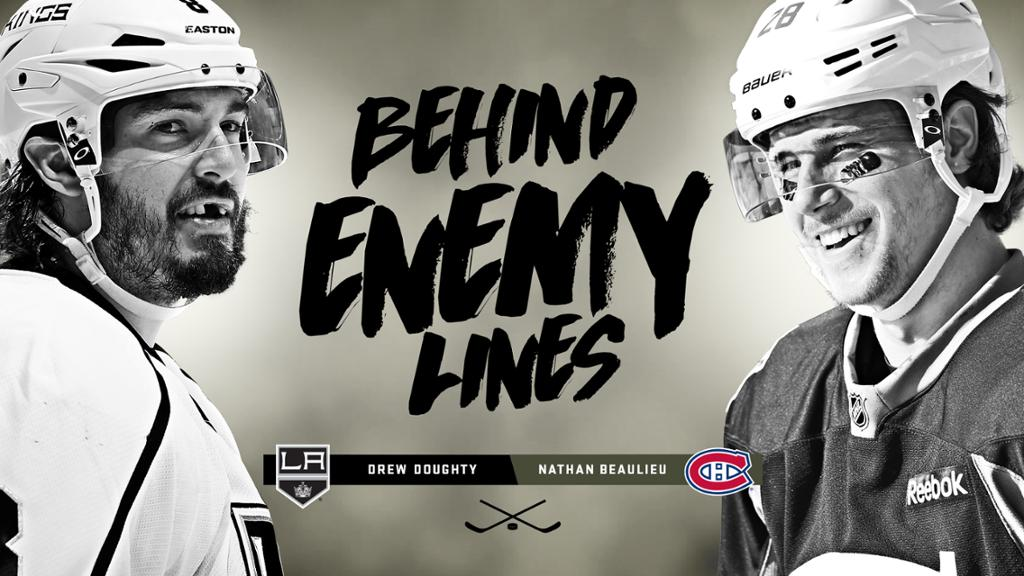 Behind Enemy Lines Drew Doughty on Nathan Beaulieu 1024x576