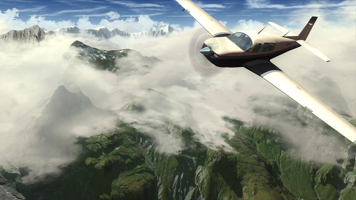 Flight Simulator X Wallpaper in 1366x768 1366x768