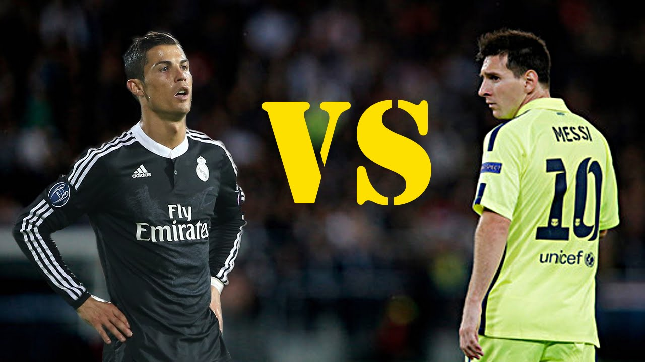 Messi vs Ronaldo 2015 Messi And Ronaldo Battle For 1280x720