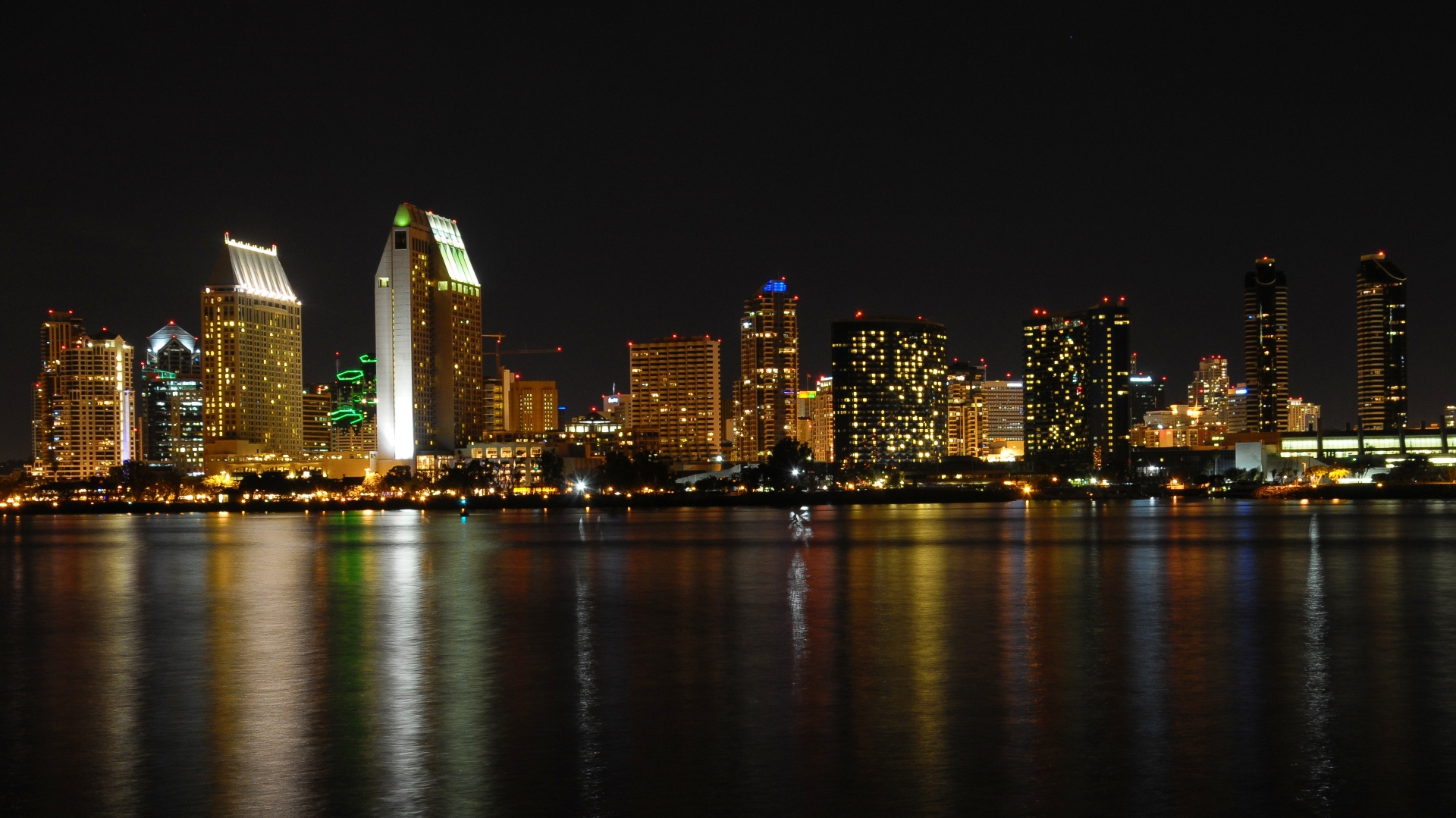 San Diego Downtown HD Wallpaper Theme Bin   Customization HD 1920x1079