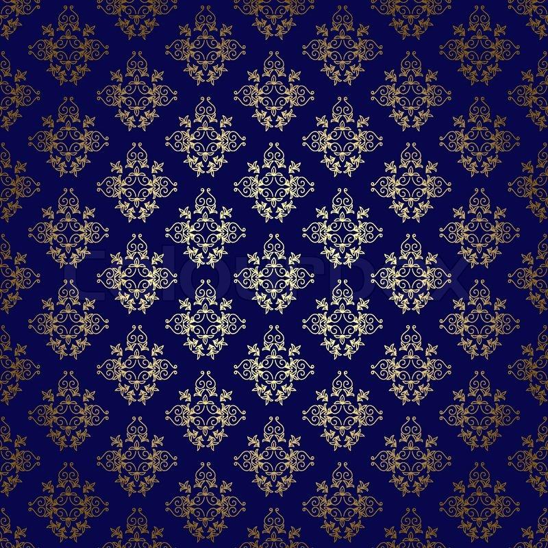 navy blue and gold wallpaper wallpapersafari