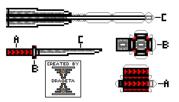 Pixel Gun 3d Emperors Blade by drageta 587x337