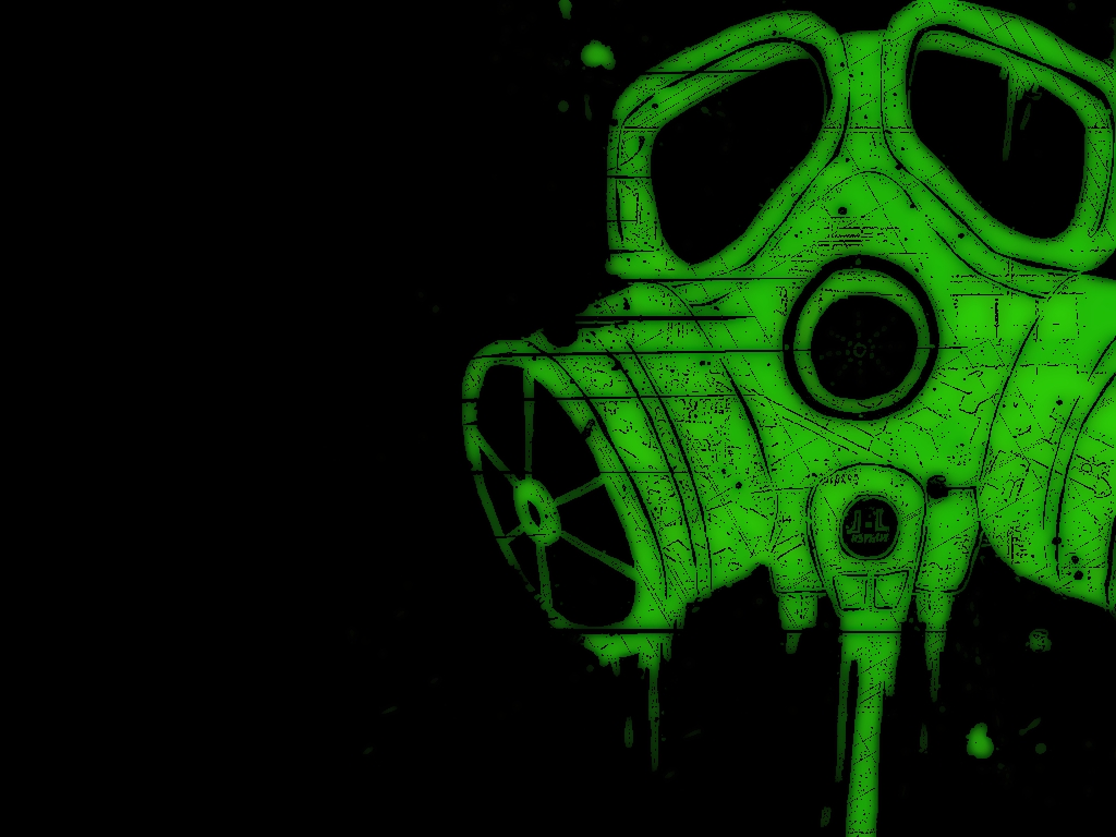 trippy gas mask wallpapers hd - photo #8