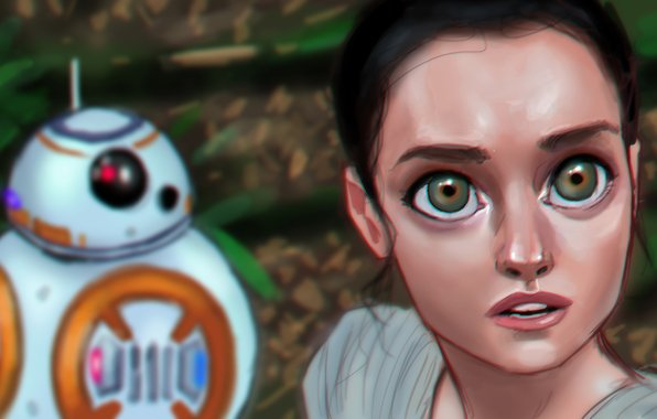 Rey star wars episode vii the force awakens episode vii star wars 596x380
