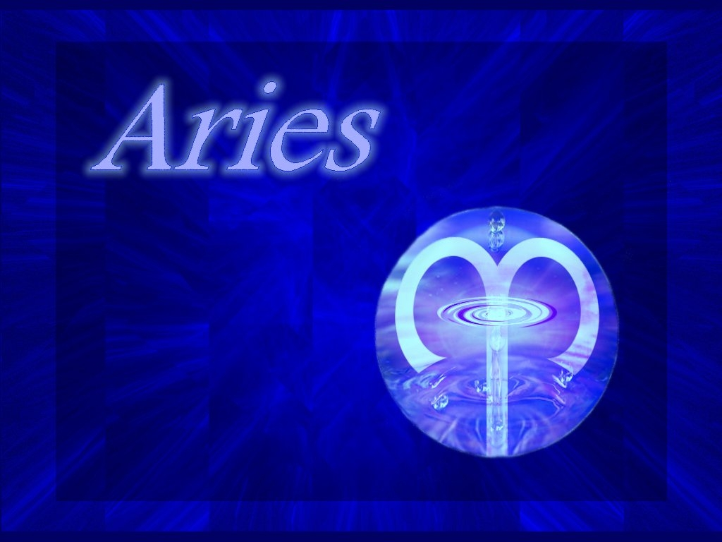 HD Aries Wallpaper Download Zodiac Signs 1024x768