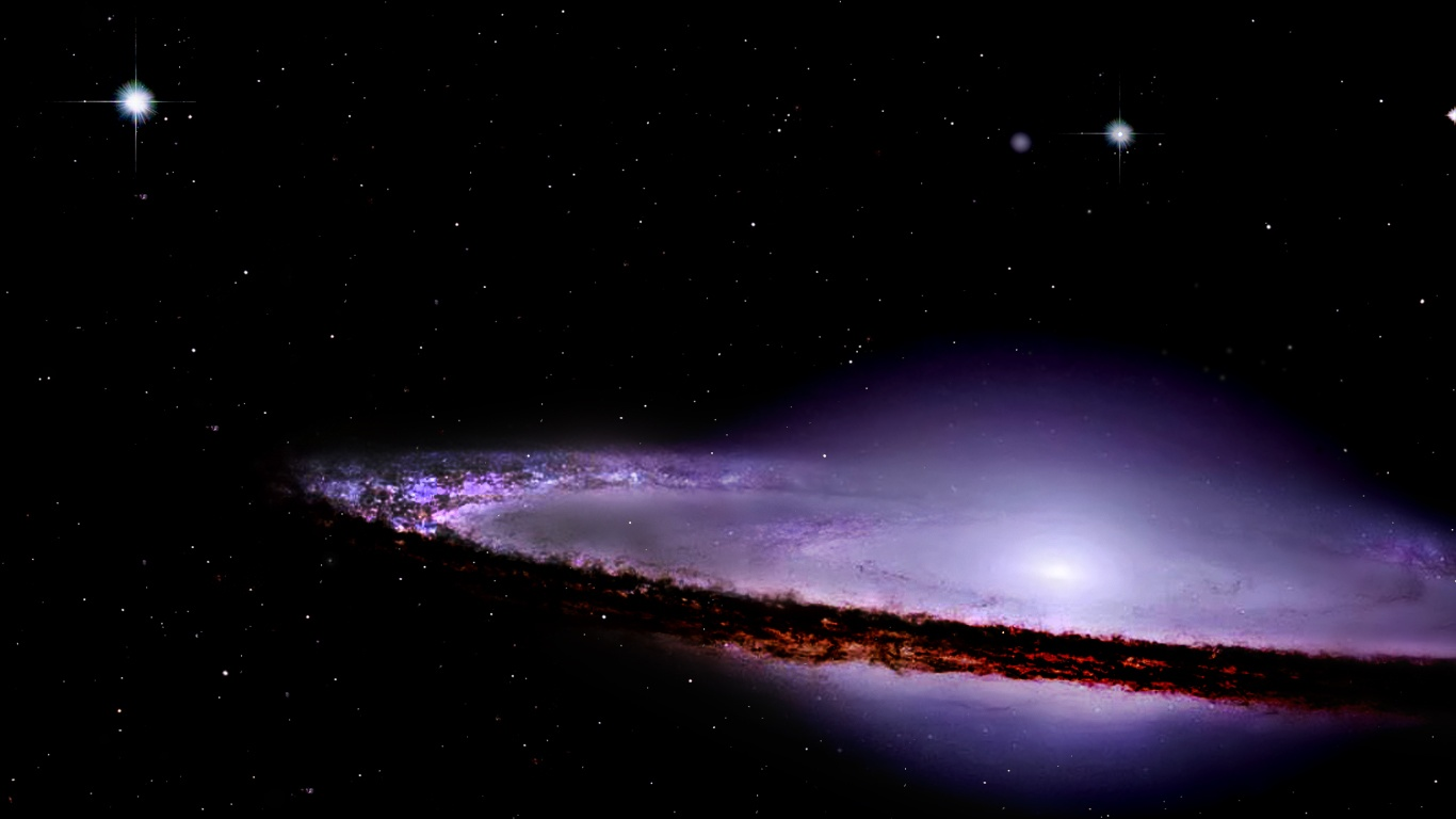 Sombrero Galaxy Wallpapers   1366x768   117199 1366x768