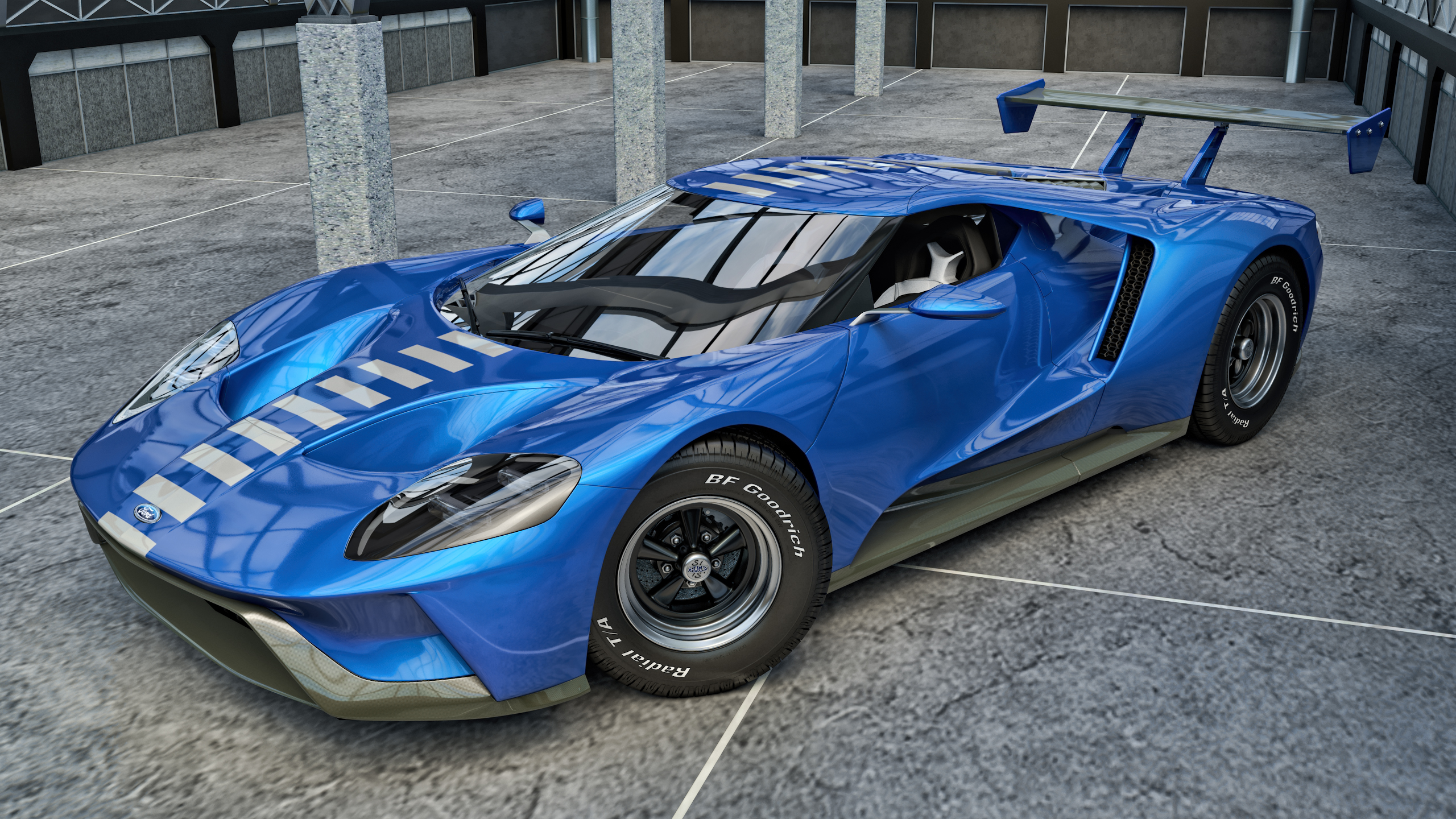 2017 Ford GT by SamCurry 2560x1440