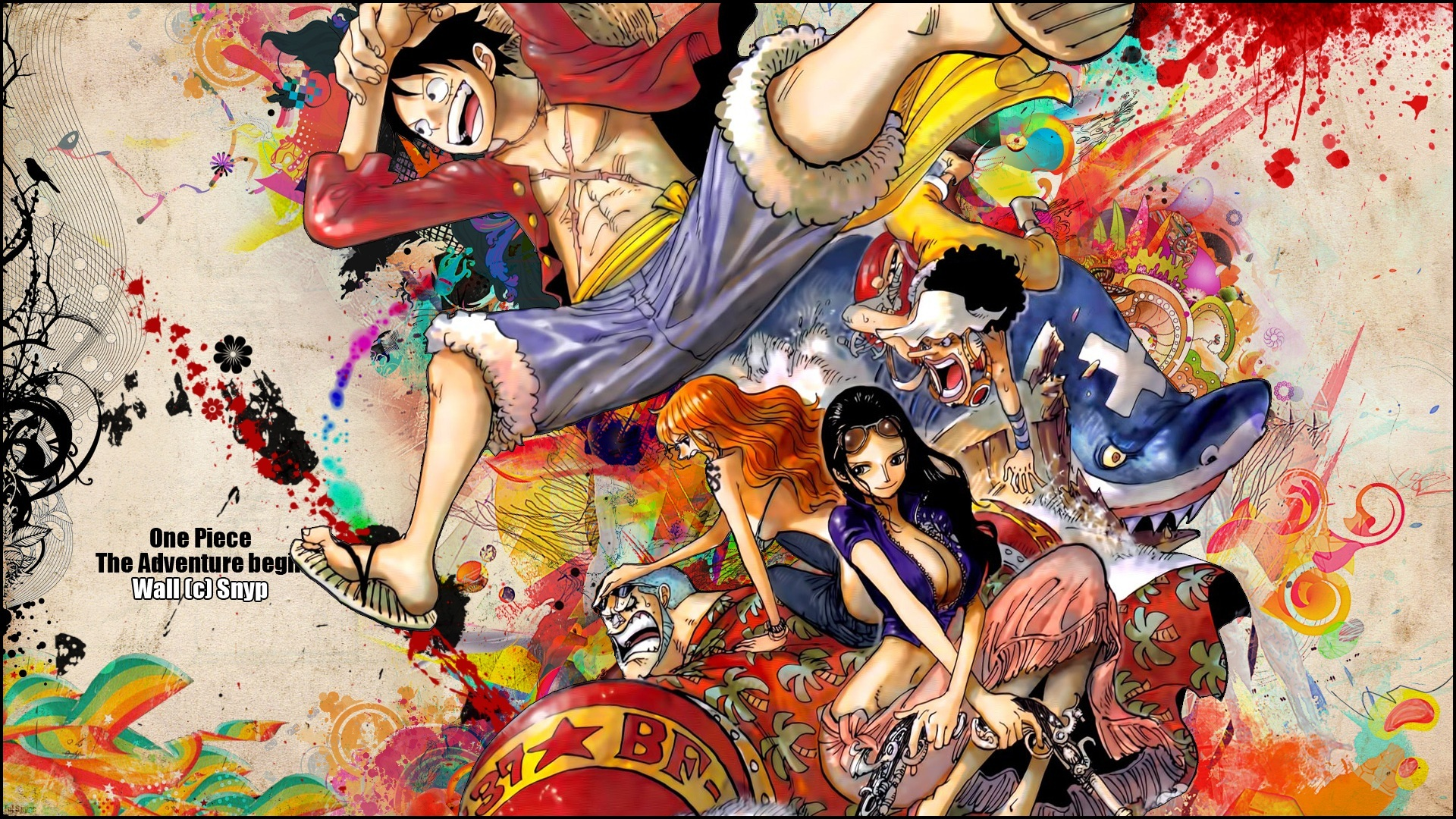 one piece wallpaper background 1920x1080 picture   1920x1080 1920x1080