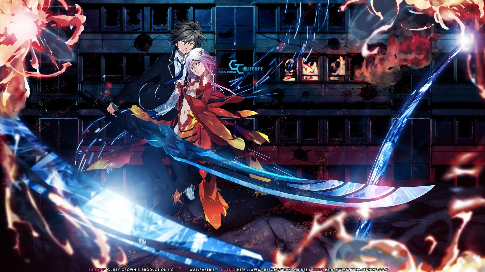 300 Guilty Crown HD Wallpapers Background Images 1920x1080