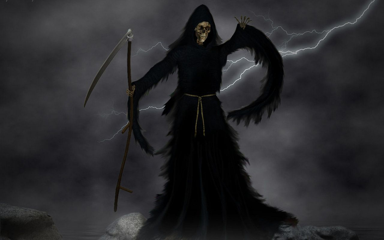 Scary Evil Skull Reaper Wallpaper PicsWallpapercom 1280x800