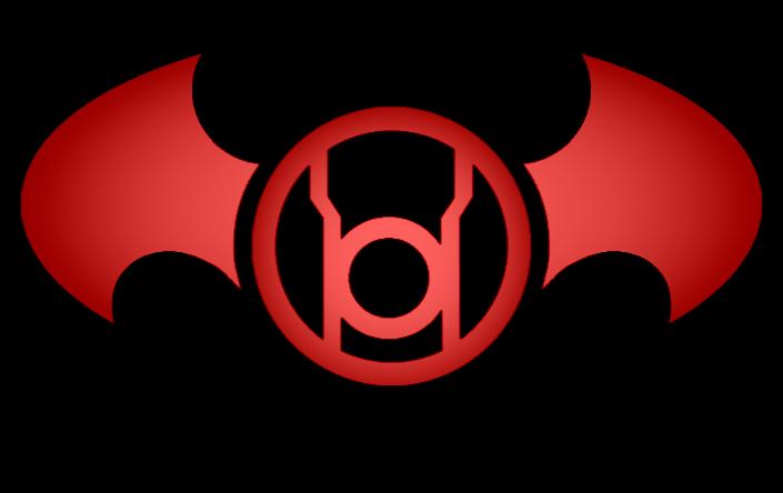 Batman Red Lantern Logo by KalEl7 705x444