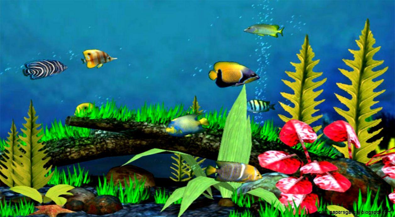 3D Fish Wallpaper Wallpapers Gallery 1256x691
