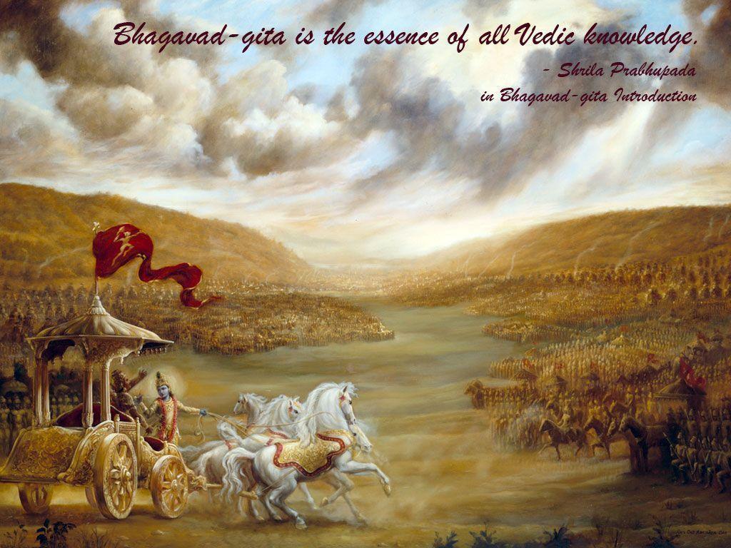 Bhagavad Gita Wallpapers 1024x768