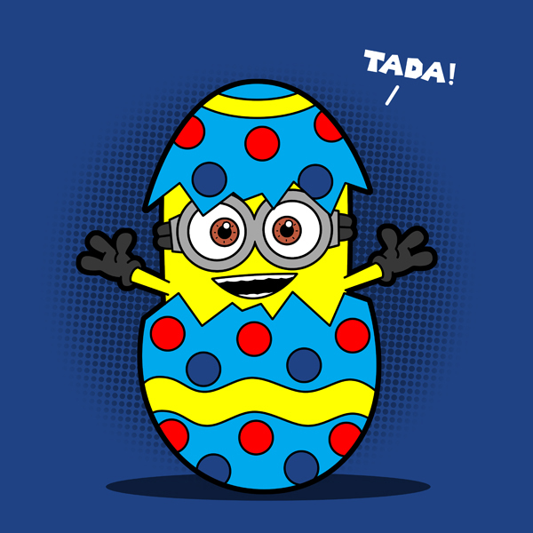 Easter Minion by boggsnicolas 600x600