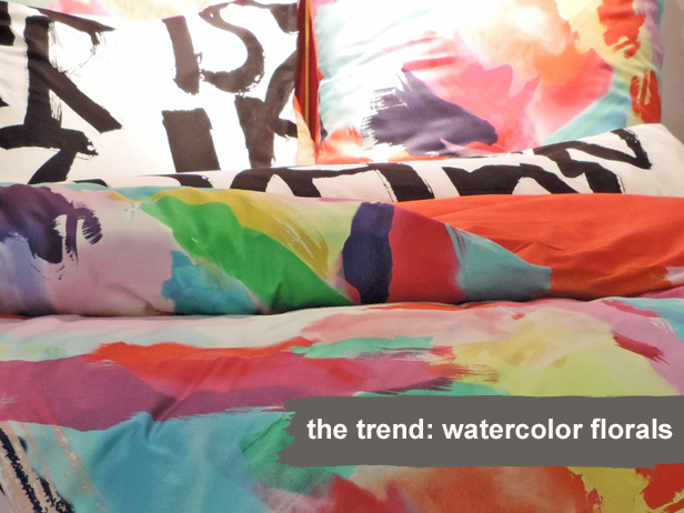 Watercolor Florals More Spring Design Trends From HGTVcom 616x462