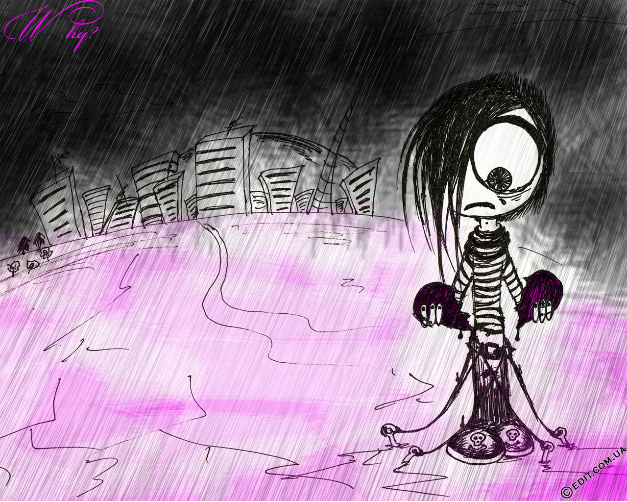 Labels Dark Wallpapers EMO Wallpapers 1280x1024