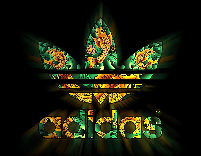 Cool adidas wallpapers wallpapersafari - Cool logo wallpapers ...