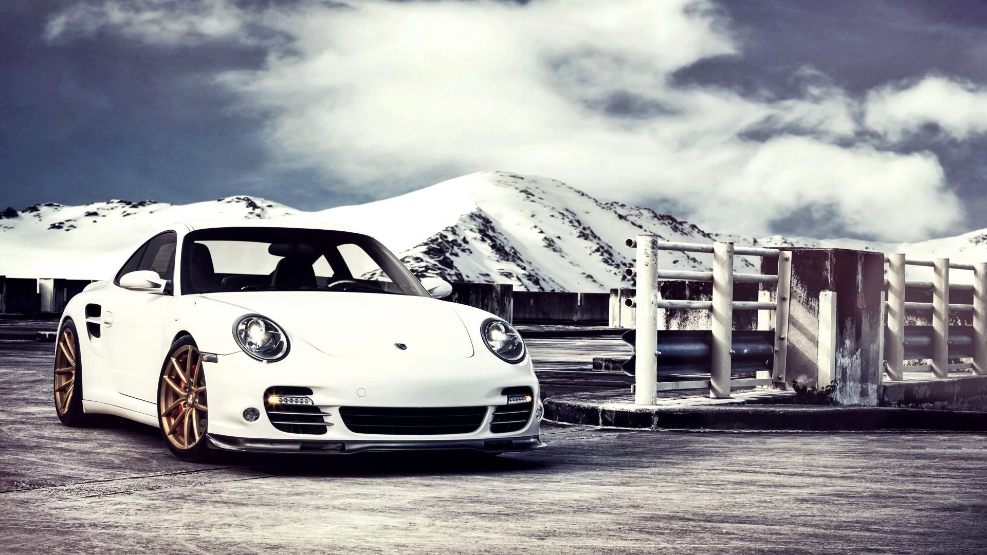 Porsche 911 Turbo Car HD Desktop Wallpaper HD Desktop Wallpaper 1920x1080