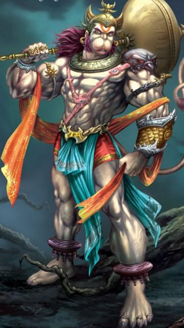 3d Lord Hanuman   Wallpaper Download   MobCup 360x640