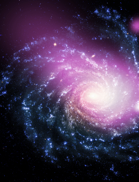 NGC1232 Galaxy Wallpaper for Amazon Kindle Fire 450x590