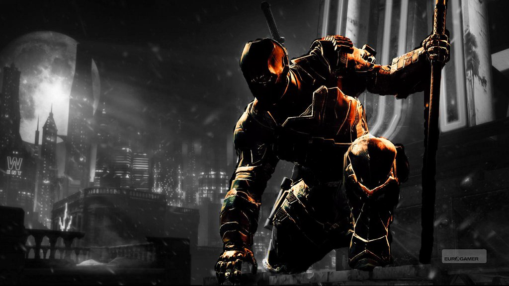 Deathstroke Wallpaper Arkham Origins Deathstroke batman arkham 1024x576