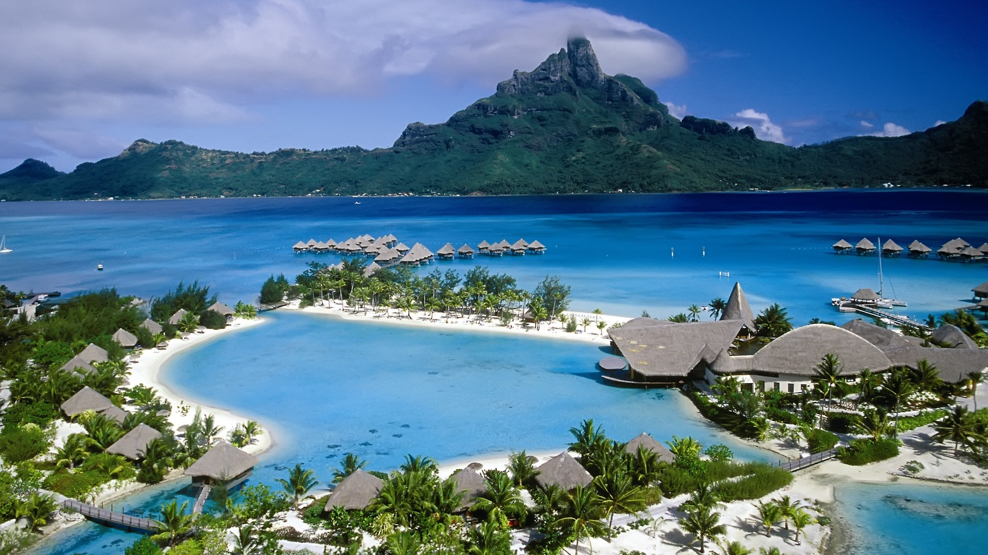 Hd wallpaper beach - Hd Tropical Island Beach Paradise Wallpapers And Backgrounds