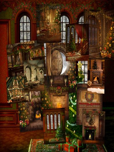 Cozy Christmas Wallpaper Wallpapersafari